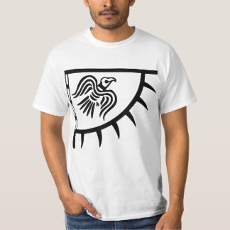 Viking Black Raven Banner T-Shirt