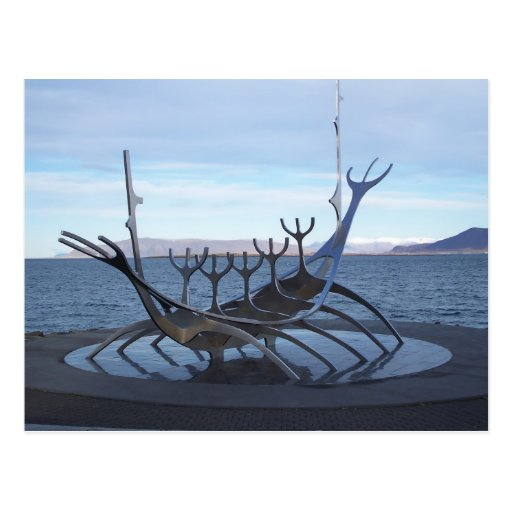 Viking Boat Post Cards