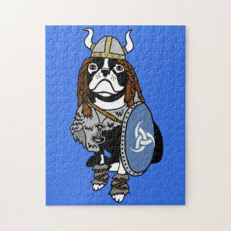 Viking Boston Terrier Puzzle