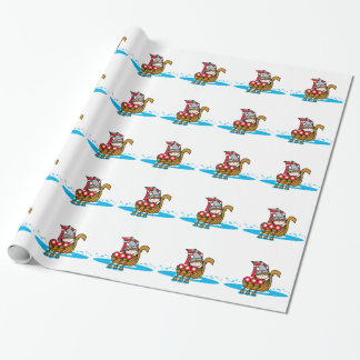 Viking Boy Wrapping Paper