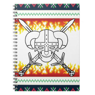 viking christmas notebook