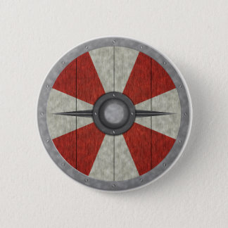 Viking Circle Shield 6 Cm Round Badge