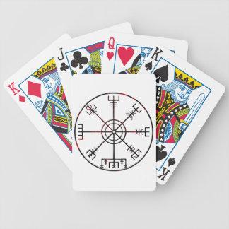viking compass s6 poster poker deck