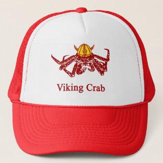 Viking crab trucker hat
