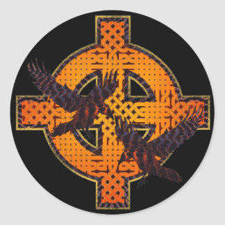 Viking Cross Sticker