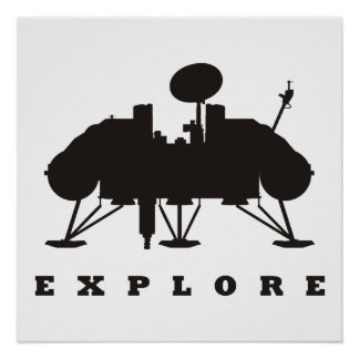 Viking / Explore Poster