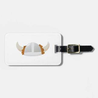 Viking Hat Luggage Tag