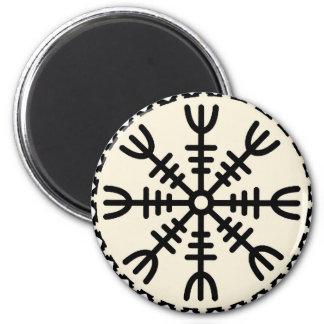 Viking Helm of Awe Magnet