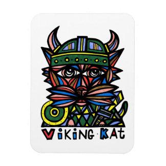 """""""Viking Kat"""" 3""""x4"""" Magnet"""