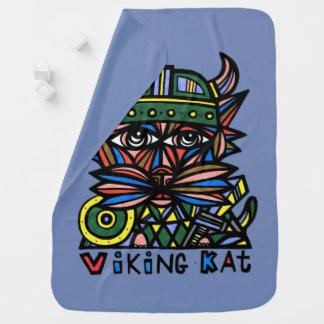 """""""Viking Kat"""" Baby Blanket"""