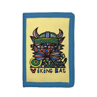 Viking Kat BuddaKats TriFold Wallet