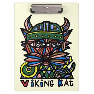 """Viking Kat"" Clipboard"