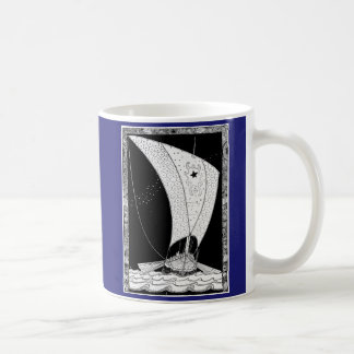 Viking longship sailboat mugs