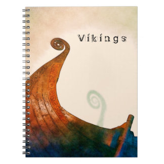 Viking Longship Tail Notebook