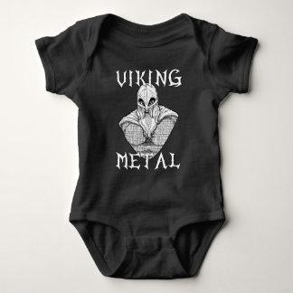 Viking Metal Baby Bodysuit