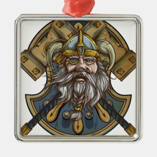 Viking Metal Ornament