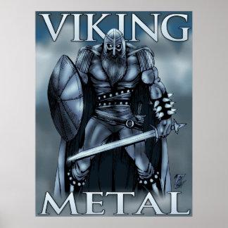 Viking Metal Poster