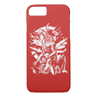 Viking MMA Fighter Glossy Phone Case