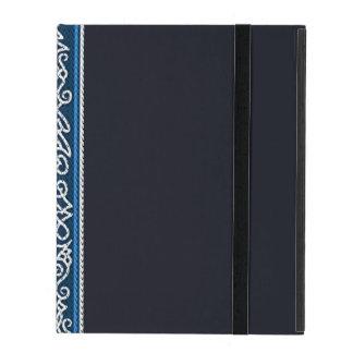 Viking Pattern Blue iPad Case