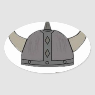 Viking Pride Oval Sticker
