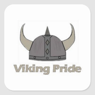 Viking Pride Square Sticker