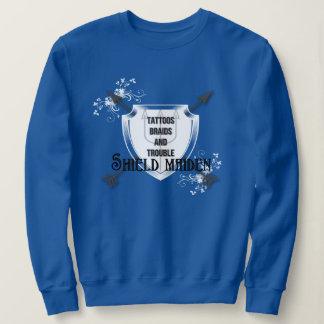 Viking  Proud Shield Maiden Sweatshirt