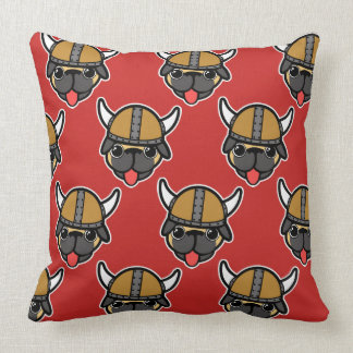 Viking Pug Red TP Cushion
