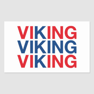 VIKING RECTANGULAR STICKER