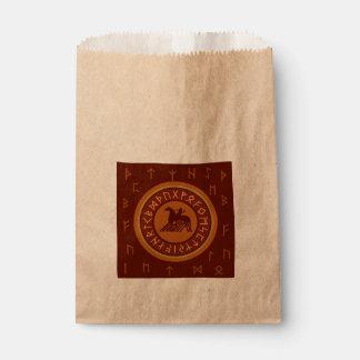 Viking Runes Favour Bag