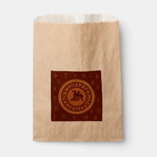 Viking Runes Favour Bags