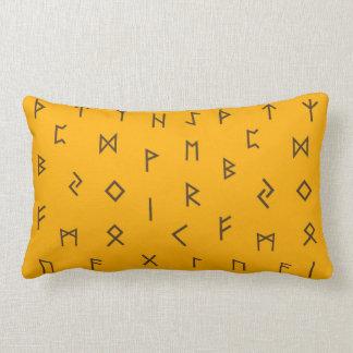 Viking Runes Lumbar Cushion