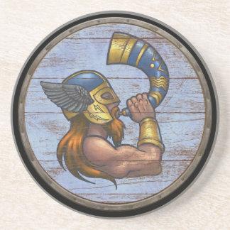Viking Shield  - Heimdallr Coaster