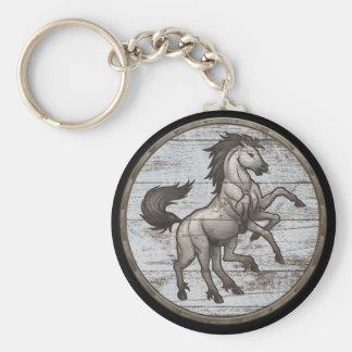 Viking Shield Keychain - Sleipnir