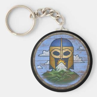 Viking Shield Keychain - Valhalla