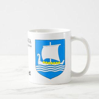 Viking Ship in the sea from Saaremaa Estonia Coffee Mug
