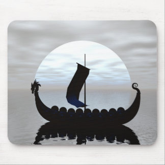 Viking Ship Mouse Pad