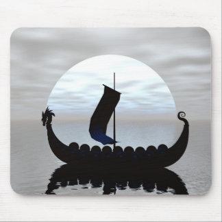 Viking Ship Mouse Pad