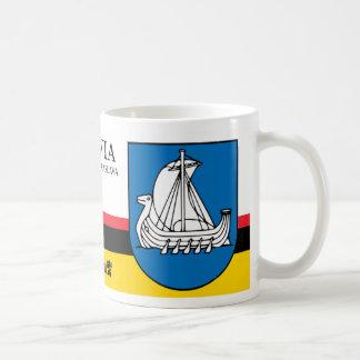 Viking Ship Shield from Kraslava Latvia Coffee Mug