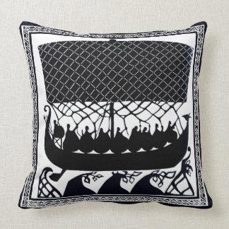 Viking Ship to Paradise Cushion