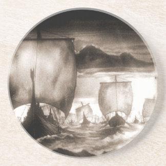 VIKING SHIPS COASTER