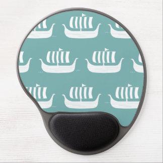 Viking ships gel mousepad