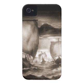 VIKING SHIPS iPhone 4 Case-Mate CASE