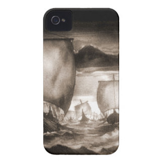 VIKING SHIPS iPhone 4 COVER