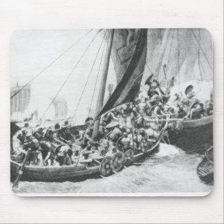 Viking Ships Mouse Pad