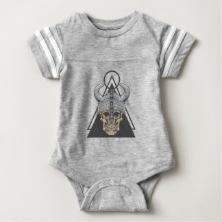 Viking Skull Baby Bodysuit