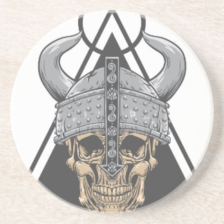 Viking Skull Coaster