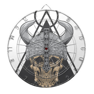 Viking Skull Dartboard