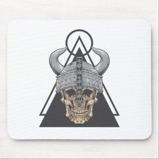 Viking Skull Mouse Pad