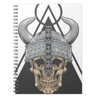 Viking Skull Notebook