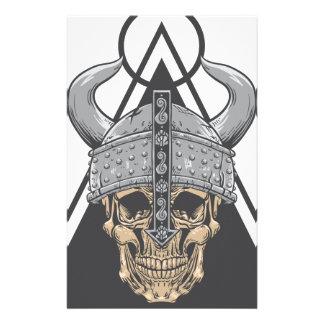 Viking Skull Stationery